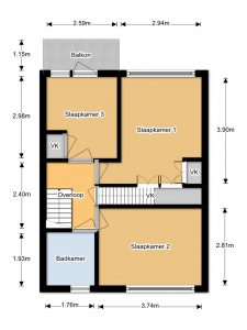 floorplan Utrecht